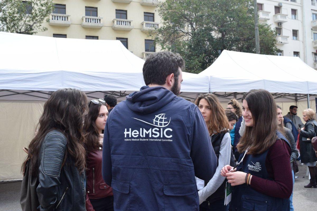 Φοιτητές Ιατρικής ενημερώνουν στην κεντρική πλατεία Λάρισας την παγκόσμια ημέρα Διαβήτη
