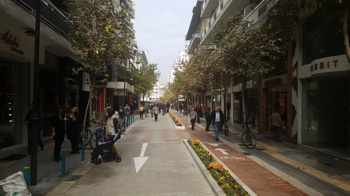 Ολοκληρώνονται τα έργα στο κέντρο της Λάρισας: Στην κυκλοφορία από βδομάδα η Μεγ. Αλεξάνδρου - Ξεκινούν νέα έργα σε συνοικίες