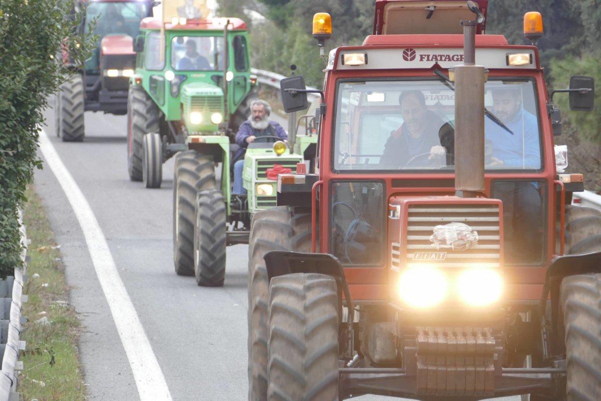 Σε απολογία αγρότες στη Λάρισα για τις κινητοποιήσεις του 2019