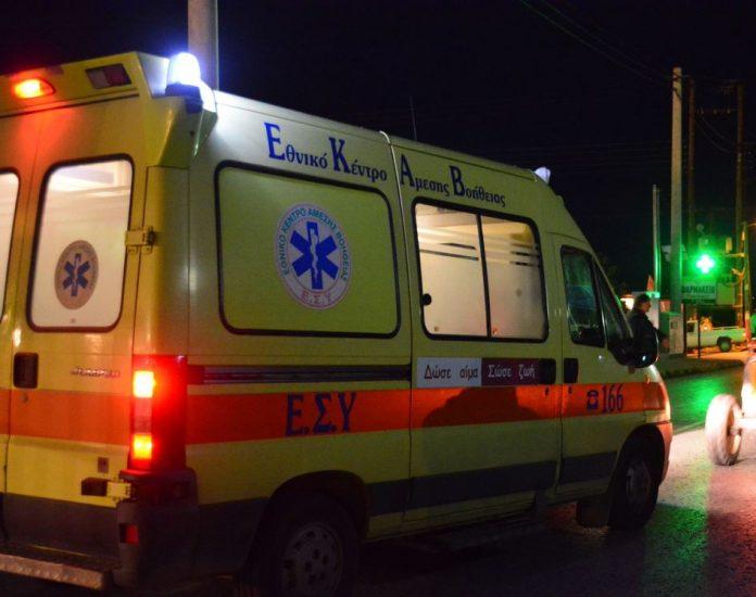 Ένας νεκρός σε τροχαίο ατύχημα χθες βράδυ στο δρόμο Λάρισας- Συκουρίου