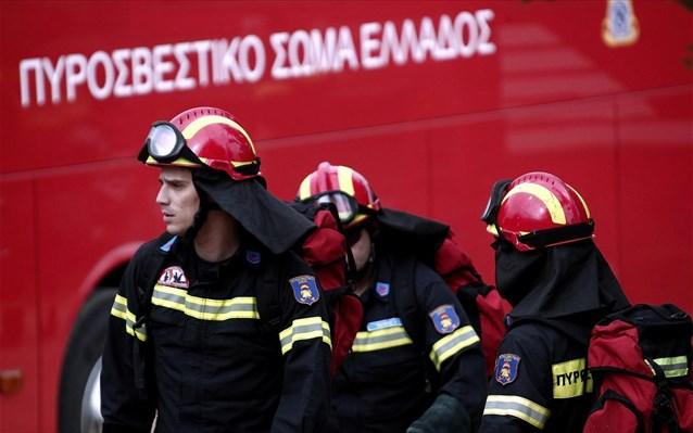 Πυροσβέστες από Λάρισα – Θεσσαλία αναχώρησαν για τη μάχη της φωτιάς του Υμηττού