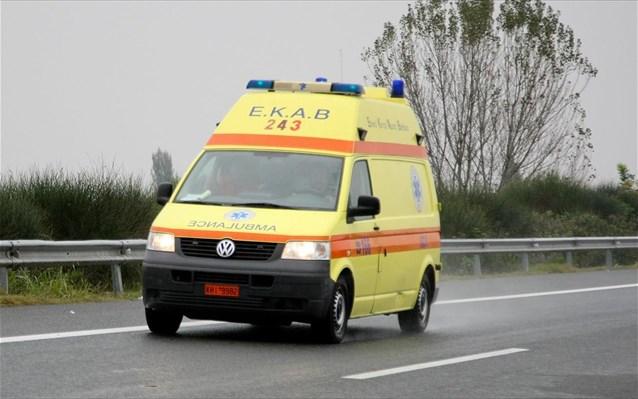 Τροχαίο ατύχημα στα Τρίκαλα – Στο νοσοκομείο μία έγκυος