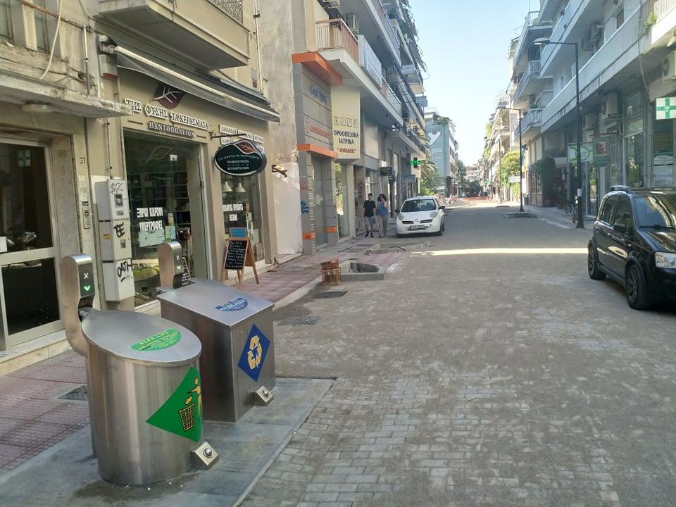 Έτοιμο προς παράδοση το πρώτο τμήμα της νέας οδού Ασκληπιού στη Λάρισα