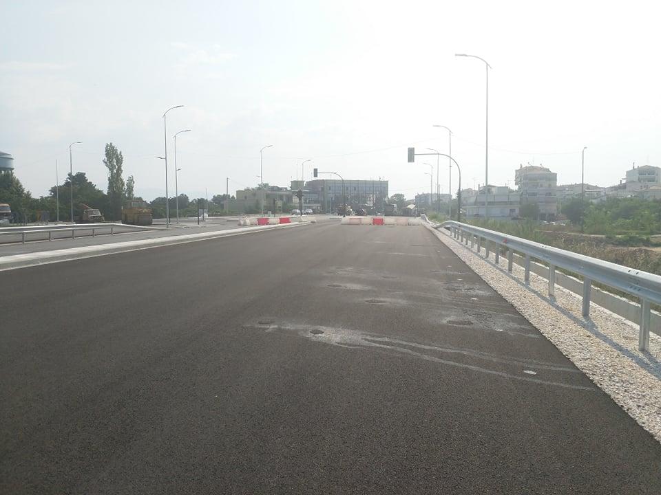 Παραδίδεται στην κυκλοφορία την Πέμπτη το νέο τμήμα του Περιφερειακού της Λάρισας