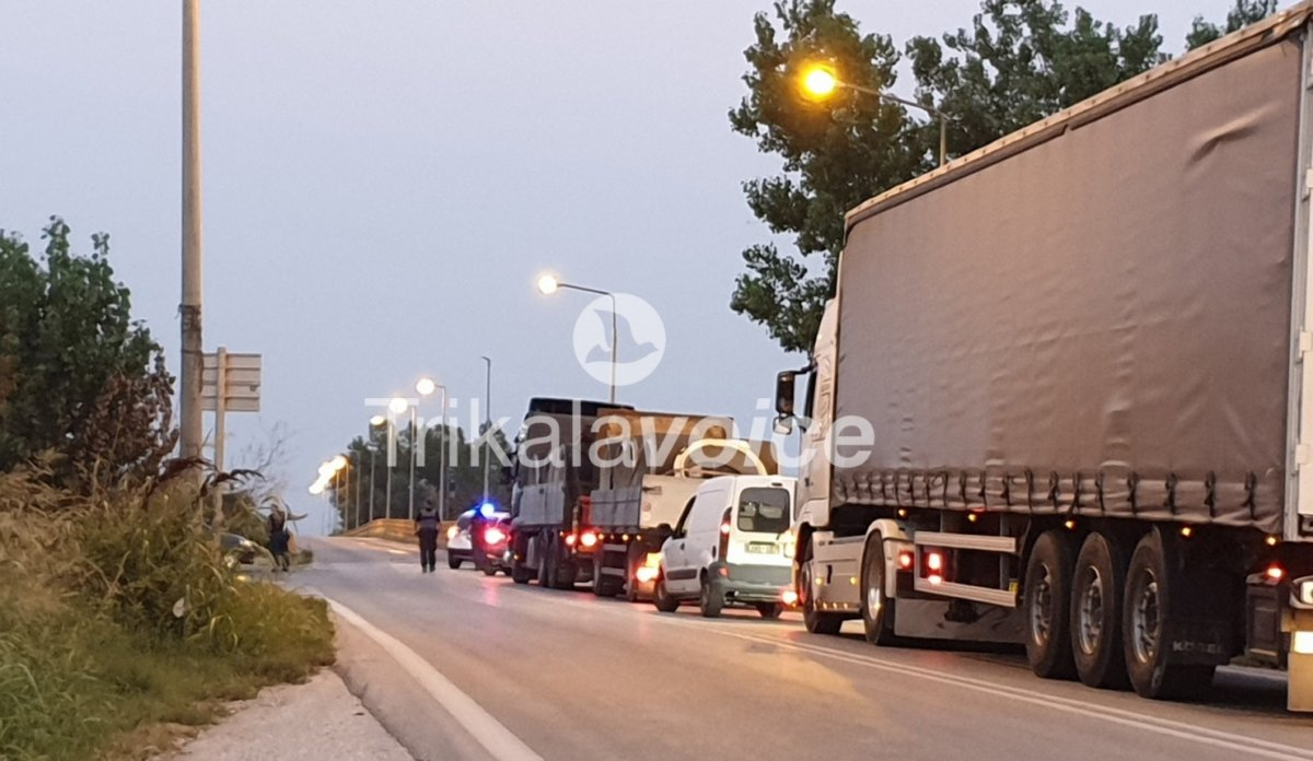 Δύο σοβαρά τραυματίες σε τροχαίο ατύχημα στην Ε.Ο. Τρικάλων-Καρδίτσας