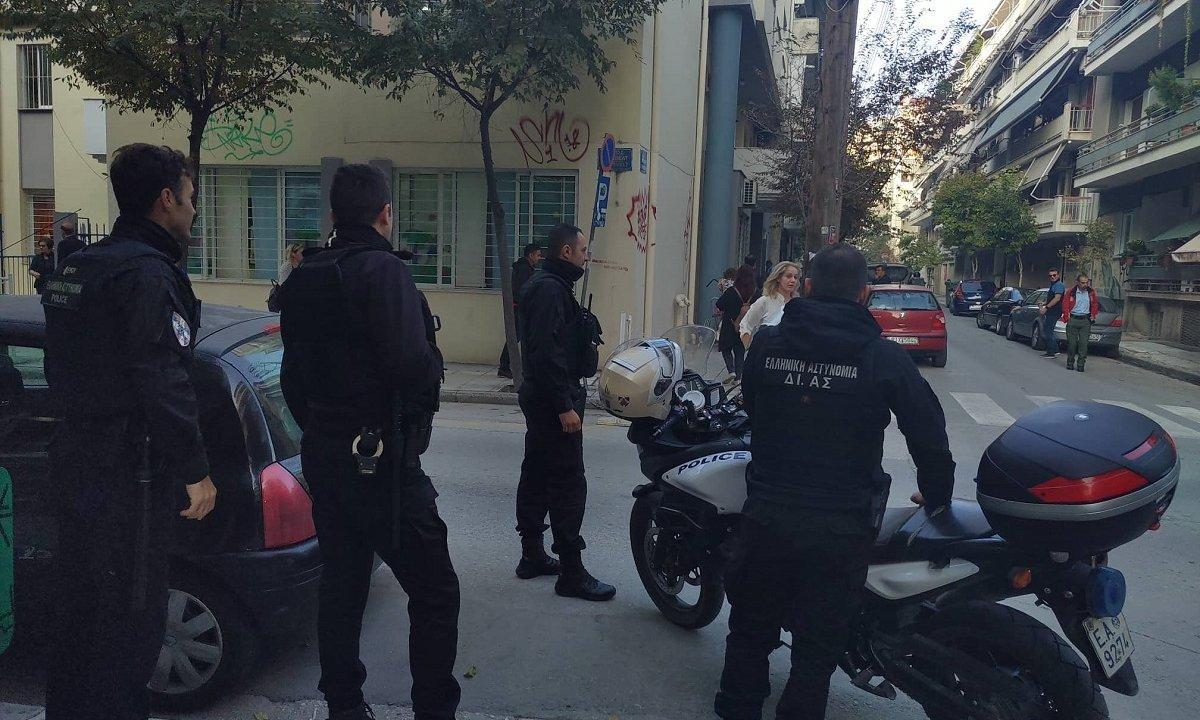 Τηλεφώνημα για βόμβα το πρωί στη Δημοτική Αστυνομία Δήμου Λαρισαίων