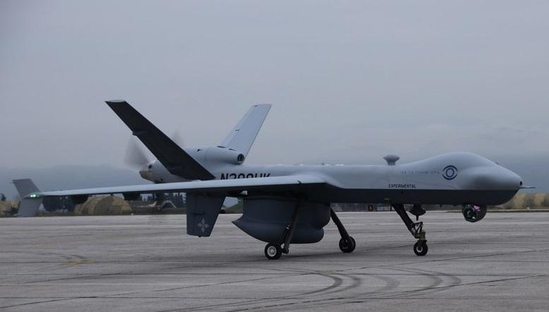 Εντυπωσιακή επίδειξη του αμερικανικού drone στην 110 ΠΜ της Λάρισας
