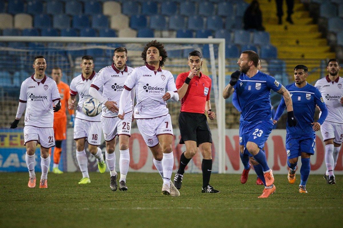 Με ισοπαλία 0-0 κατάφερε να πάρει τον βαθμό η ΑΕΛ στη Λαμία η ΑΕΛ