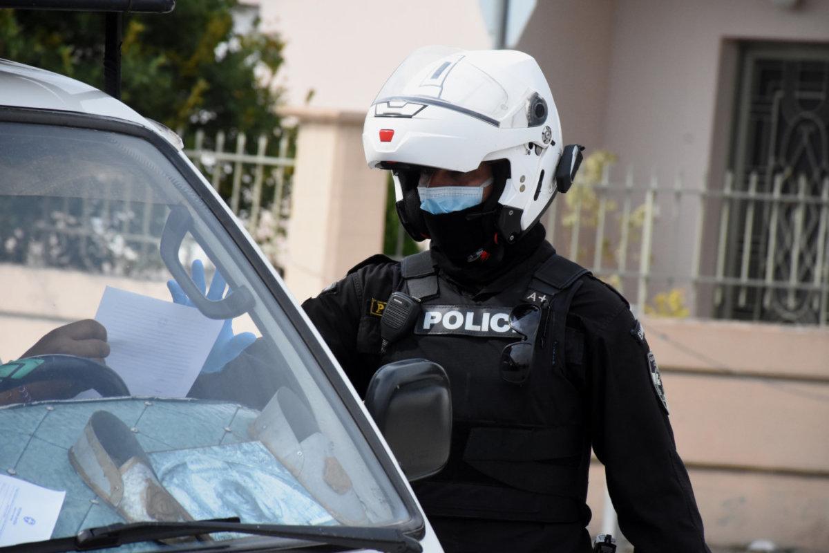 108 παραβάσεις για άσκοπες μετακινήσεις στη Θεσσαλία