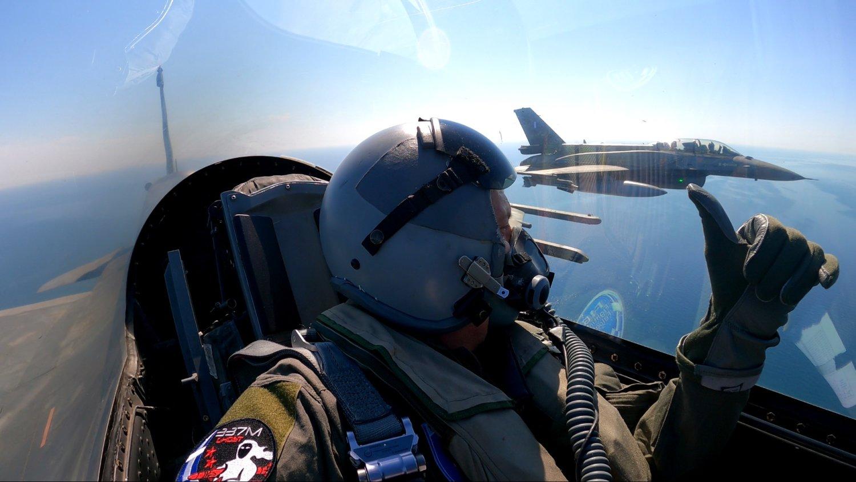 202106181509152458 - Ο Αρχηγός ΓΕΕΘΑ πέταξε από τη Λάρισα στο Αιγαίο