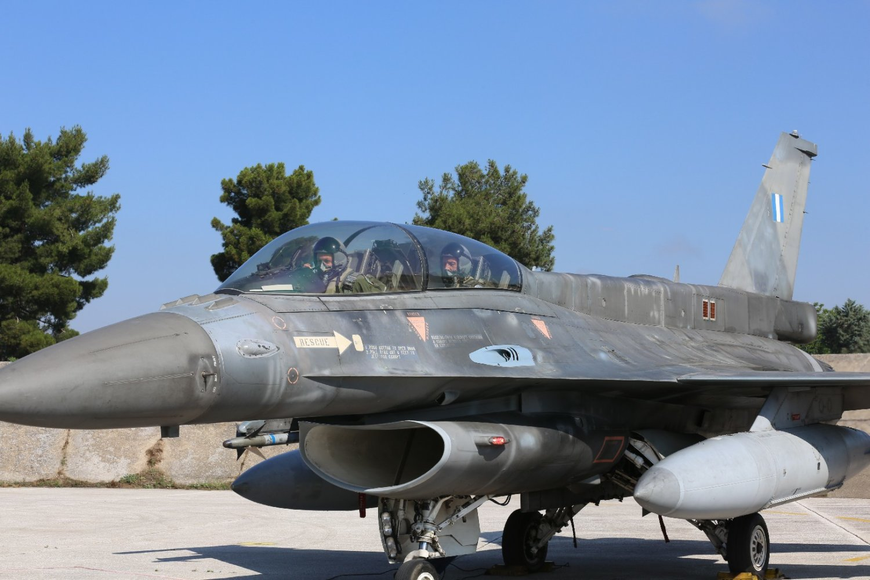 202106181509223564 - Ο Αρχηγός ΓΕΕΘΑ πέταξε από τη Λάρισα στο Αιγαίο