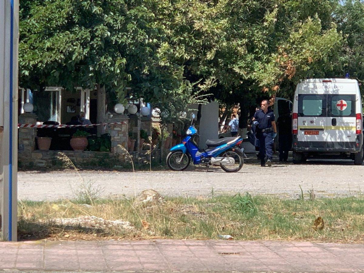 Λάρισα: Άγριο έγκλημα στη Σωτηρίτσα - Νεκρή 43χρονη - Την πυροβόλησε ο  σύζυγός της (φωτ.) - larissanet.gr
